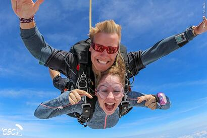 Tandem Skydiving With Friends | Chicagoland Skydiving Center