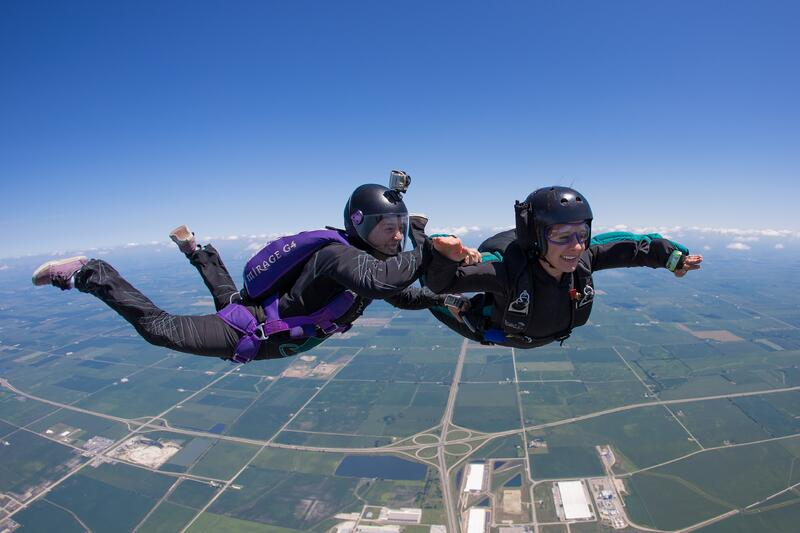 student-skydiver-photo